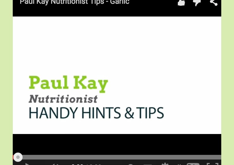 PAUL KAY nutritionist videos